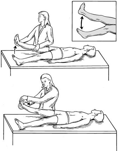 TEST Straight Leg Raising (SLR). To τεστ αυτό, είναι ένας ακριβής προγνωστικός δείκτης της δισκοκήλης. Σε αυτό το τεστ ο γιατρός σας ανυψώνει το προσβεβλημένο πόδι. Το γόνατο παραμένει σε ευθεία θέση. Εάν αισθάνεστε πόνο κάτω από το πόδι σας και κάτω από το γόνατο, θα είναι θετικό για μια κήλη δίσκου. test mesis